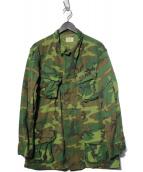US ARMY(ユーエスアーミー)の古着「[古着]60s ERDLファティーグジャケット」 グリーンリーフカモ