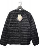 mont-bell(モンベル)の古着「スペリオダウン ラウンドネックジャケット」|ブラック