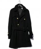 edition(エディッション)の古着「ベルテッドコート」|ブラック