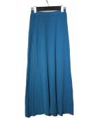 THE SHINZONE(ザ シンゾーン)の古着「20AW コットンプリーツスカート」 ブルー