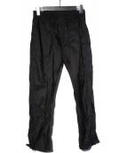 PRADA(プラダ)の古着「ナイロントラウザー パンツ」|ブラック