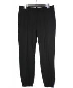 PRADA(プラダ)の古着「センタープレース ジョガーパンツ」|ブラック