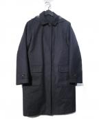 HUMAN WOMAN(ヒューマンウーマン)の古着「ライナー付フーデッドコート」|ネイビー