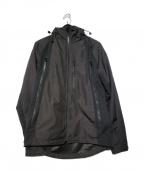 narifuri(ナリフリ)の古着「ウインドスルーマウンテンパーカー」 ブラック
