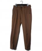 MR.OLIVE(ミスターオリーブ)の古着「STA-PREST TAPERED パンツ」|ブラウン