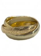 Cartier(カルティエ)の古着「K18トリニティリング」 ゴールド