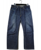 WAREHOUSE(ウエアハウス)の古着「初期モデルセルビッチデニムパンツ」|インディゴ