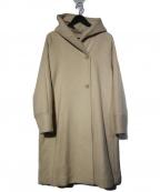 LA MARINE FRANCAISE(マリンフランセーズ)の古着「両面パイルフード衿ラグランコート」|ベージュ