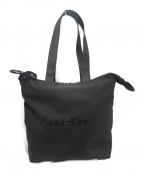 kawa-kawa(カワカワ)の古着「Rubber-cho25bisトートバッグ」|ブラック