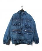 X-GIRL(エックスガール)の古着「BOA DENIM JACKET ボアデニムジャケット」|インディゴ