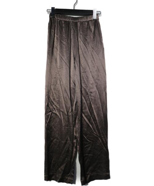 Aresense(アーセンス)Aresense (アーセンス) Smokey Satin Pants スモーキーサテンパンツ チャコールグレー サイズ:34 20AWアイテムの古着・服飾アイテム