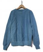filmelange(フィルメランジェ)の古着「クルーネックスウェット」 ブルー