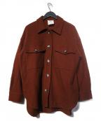 1er Arrondissement(プルミエ アロンディスモン)の古着「圧縮ブルゾン ジャケット」|ブラウン