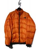 THE NORTH FACE(ザノースフェイス)の古着「ACONCAGUA JACKET アコンカグアジャケット」 オレンジ