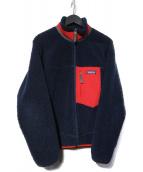 Patagonia(パタゴニア)の古着「クラシックレトロX フリースジャケット」 ネイビー
