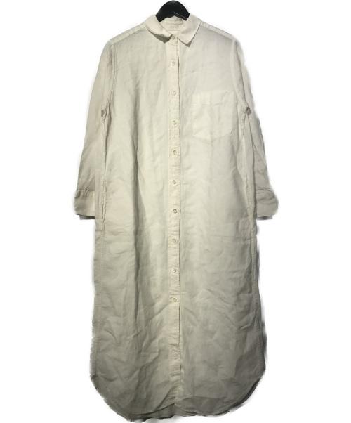 Plage(プラージュ)Plage (プラージュ) リネンシャツワンピース ホワイト サイズ:36の古着・服飾アイテム