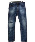 ()の古着「THOMMERジョグジーンズ デニムパンツ」|インディゴ