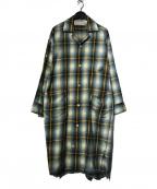 PHINGERIN(フィンガリン)の古着「25 SLEEPER SC/シャツコート」|ネイビー