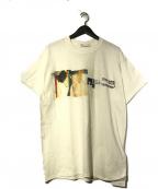 TOGA ARCHIVES(トーガ・アーカイブス)の古着「グラフィックプリントTシャツ」|ホワイト