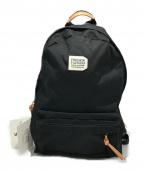 FREDRIK PACKERS(フレドリックパッカーズ)の古着「500D DAY PACK デイパック リュック」|ブラック