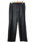 LANVIN en Bleu(ランバンオンブルー)の古着「シェットランドウール ワークパンツ」 インディゴ