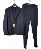 COMME CA MEN(コムサメン)の古着「トリクシオンパッカブルスーツ」 ネイビー