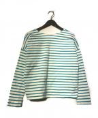 Traditional Weatherwear(トラディショナルウェザーウェア)の古着「BMB SHIRT LONG EX PLAGE」|ブルー
