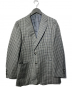 Burberrys(バーバリーズ)の古着「ギンガムチェック2Bジャケット」 グレー