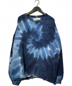 NOMA t.d.(ノーマティーディー)の古着「Tie Dye Twisted Sweat」 ブルー