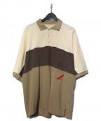 PHINGERIN()の古着「RUN POLO ポロシャツ」|ブラウン