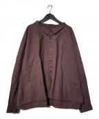 whowhat(フーワット)の古着「5XL shirt」|ボルドー