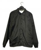 GOOD DESIGN SHOP COMME des GARCONS(グッドデザインショップ コムデギャルソン)の古着「CDG LOGO COACH JACKET コーチジャケット」 ブラック