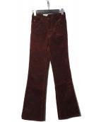 ()の古着「517 コーデュロイフレアパンツ」 ボルドー