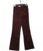LEVIS(リーバイス)の古着「517 コーデュロイフレアパンツ」 ボルドー