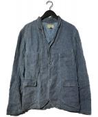 RRL(ダブルアールエル)の古着「コットンリネン ワークジャケット」|インディゴ