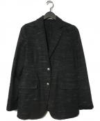 BOGLIOLI(ボリオリ)の古着「2Bジャケット」 ブラック