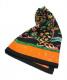 HERMES(エルメス)の古着「カレ90 シルクスカーフ 東洋の石と西洋の石細工」|ブラック×オレンジ