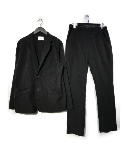 URBAN RESEARCH(アーバンリサーチ)URBAN RESEARCH (アーバンリサーチ) 360°STRETCH SET UP PACK セットアップ ブラック サイズ:Lの古着・服飾アイテム