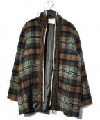 digawel(ディガウェル)の古着「FRINGEJACKET napping フリンジジャケット」|ブラウン