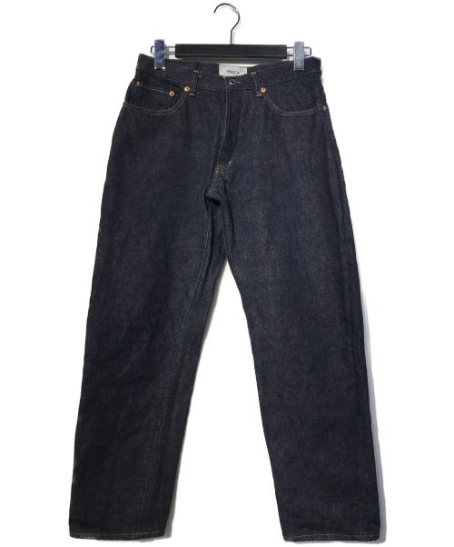 YAECA(ヤエカ)YAECA (ヤエカ) DENIM PANTS WIDE TAPEREDデニムパンツ インディゴ サイズ:30の古着・服飾アイテム