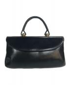 ()の古着「ロイヤルモデル ハンドバッグ」|ネイビー