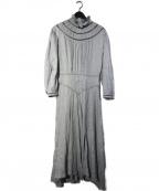 ISABEL MARANT ETOILE(イザベルマランエトワール)の古着「ALBANE リネンレースワンピース」|ライトブルー