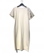qualite(カリテ)の古着「釦スリーブワンピース」|アイボリー