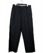 Bergfabel(バーグファベル)の古着「FARMER pants」|ブラックネイビー