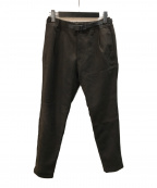 GRAMICCI(グラミチ)の古着「TWEEDY HERRINGBONE CRAZY PANTS」|ブラウン