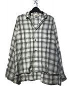 ()の古着「STREET SHADOW SHADOW SHIRT シャツ」|グレー