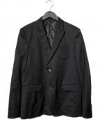 UNDERCOVER(アンダーカバー)の古着「ギャバピークドジャケット」|ブラック