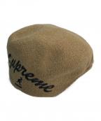 SUPREME(シュプリーム)の古着「Kangol Bermuda 504 Hat  ハンチング」 ベージュ
