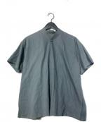 JURGEN LEHL(ヨーガンレール)の古着「1Bシャツ」 グリーン