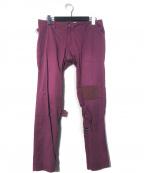 PEEL&LIFT(ピールアンドリフト)の古着「damaged bondage trousers」 パープル